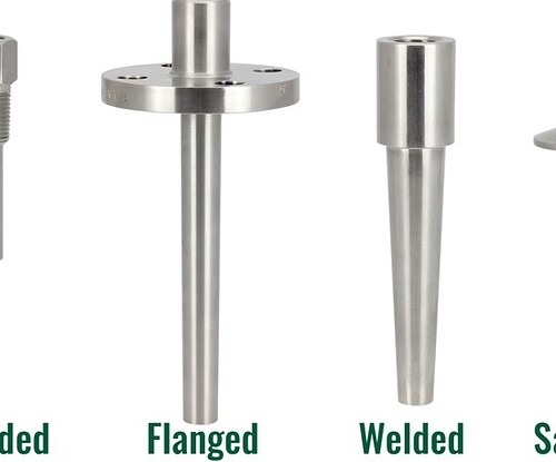 Thermowell Connection type -Threaded-Flanged-Welded-Sanitary