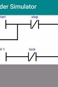 Ladder logic simulation