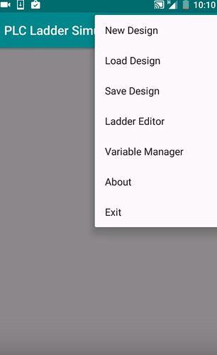 PLC Ladder simulator android application