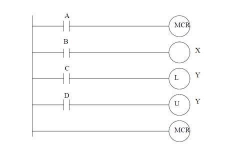 MCR ladder logic