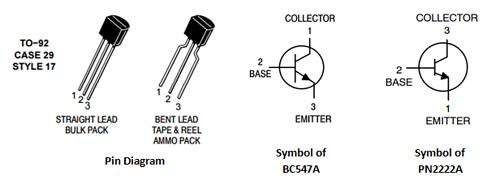 NPN-Transistor-Pinout