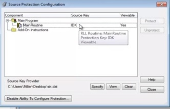 Crack RSlogix Password Protection