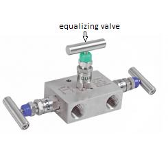 3 valve manifold